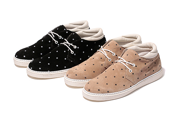 Stussy Deluxe x BePositive 2013 Spring/Summer Footwear Collection