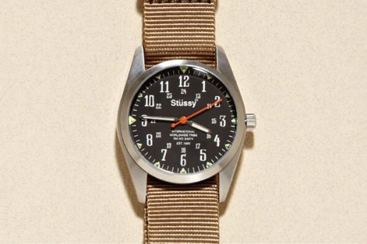 "Stussy Time ""Oran"" Watch"