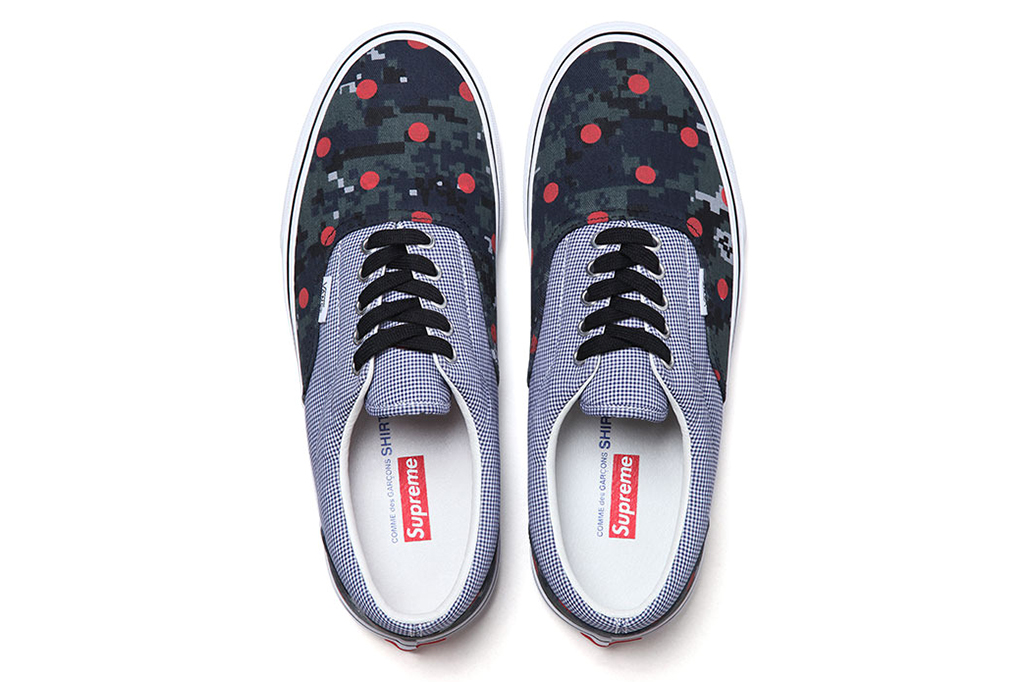 supreme x comme des garcons shirt x vans 2013 collection