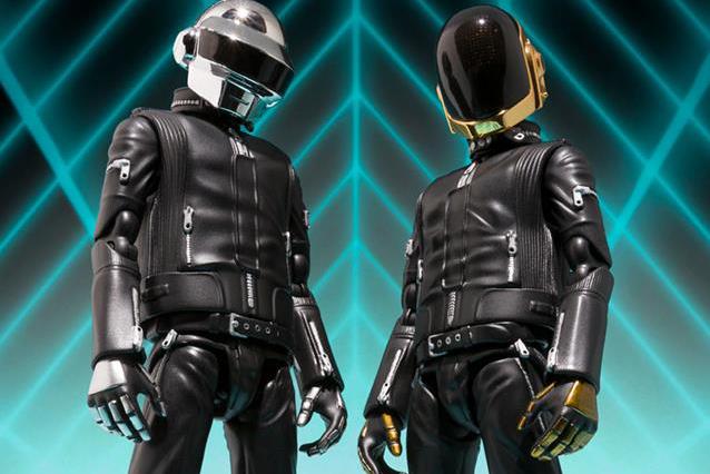 Tamashii Nations 2013 Fall/Winter S.H.Figuarts Daft Punk Figures