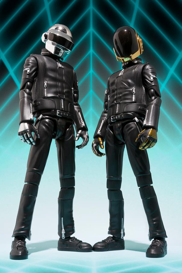 Tamashii Nations 2013 Fall/Winter S.H.Figuarts Daft Punk Figures