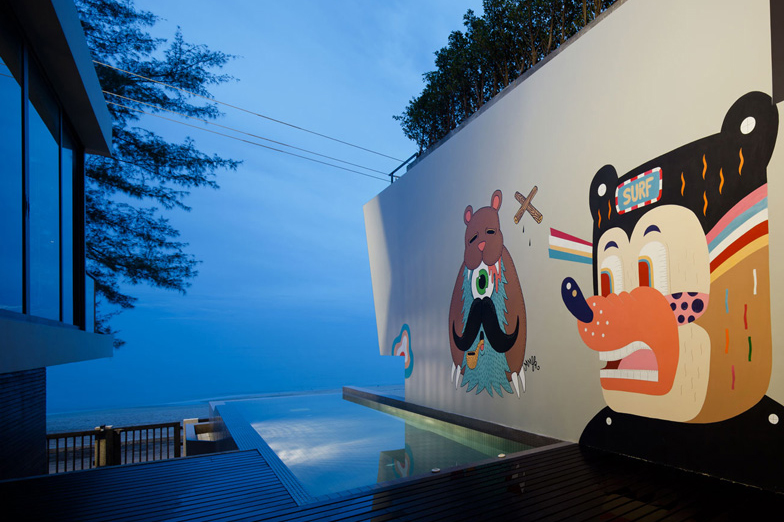 Thailand's Bearbrick-Inspired Bear House