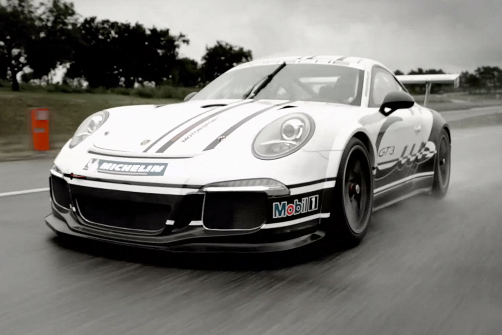 The 2014 Porsche 911 GT3 Hits the Track