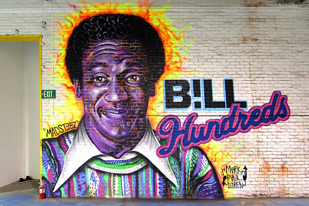 The Hundreds x MADSTEEZ 'BILL HUNDREDS' Mural