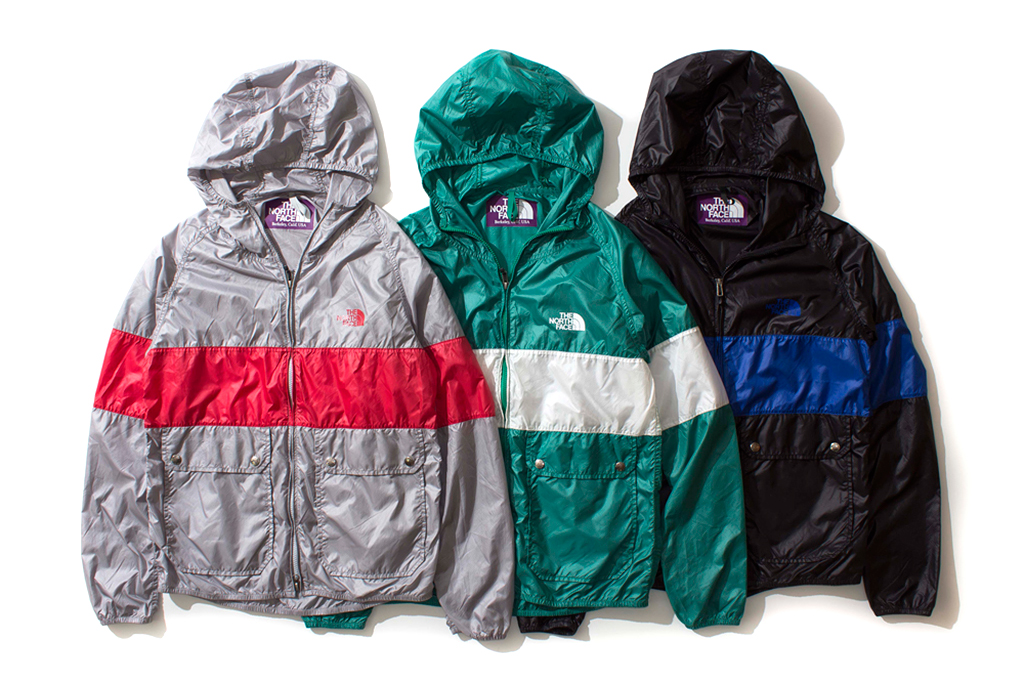 the north face purple label 2013 spring summer mountain wind parka