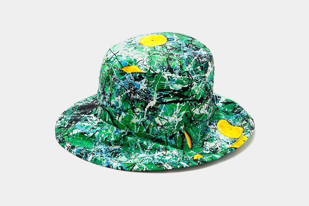 The Stone Roses x A.FOUR Bucket Hat