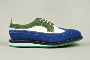 Thom Browne Long Wing Leather Brogue