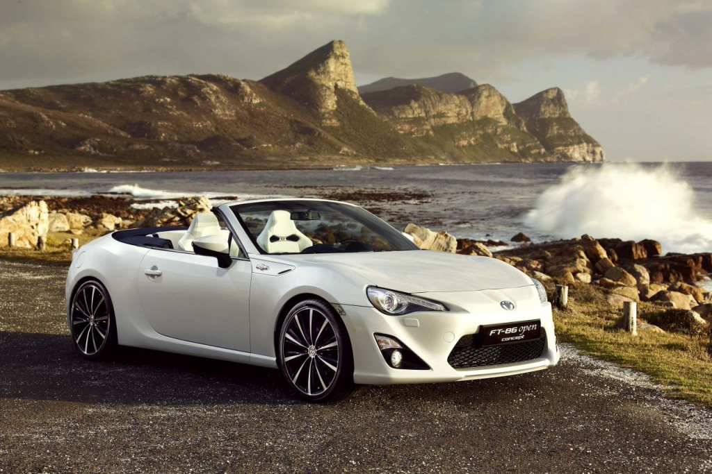toyota ft 86 open concept
