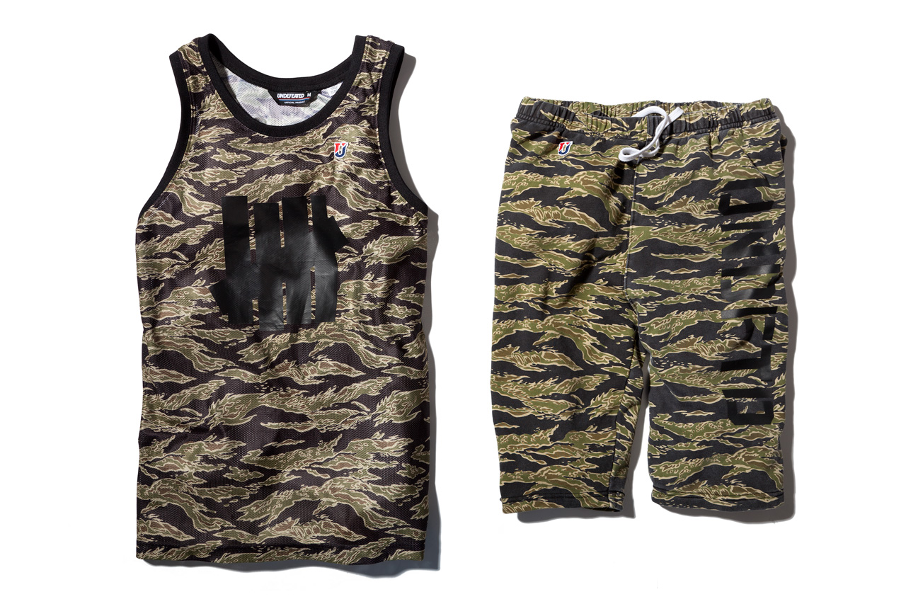 Undefeated 2013 Spring/Summer Olive Tiger Camo Collection