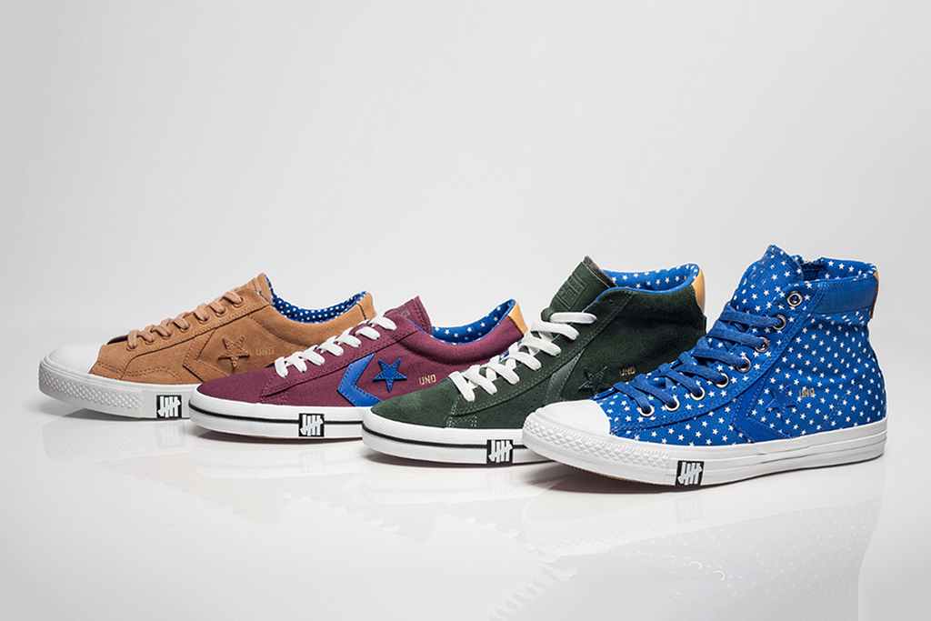 """Undefeated x Converse 2013 Spring/Summer """"Born Not Made"""" Collection"""