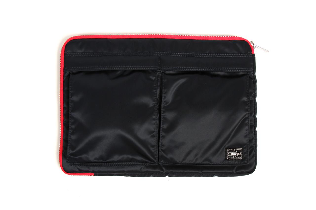 United Arrows & Sons x B JIRUSHI YOSHIDA x Head Porter Tanker Clutch Bag