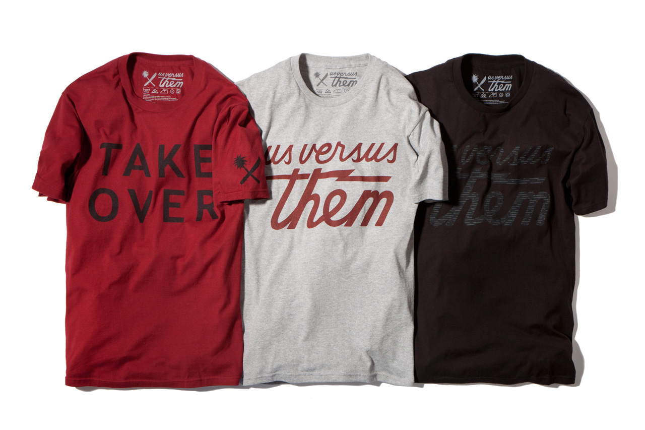 us versus them 2013 spring summer apparel collection delivery 1