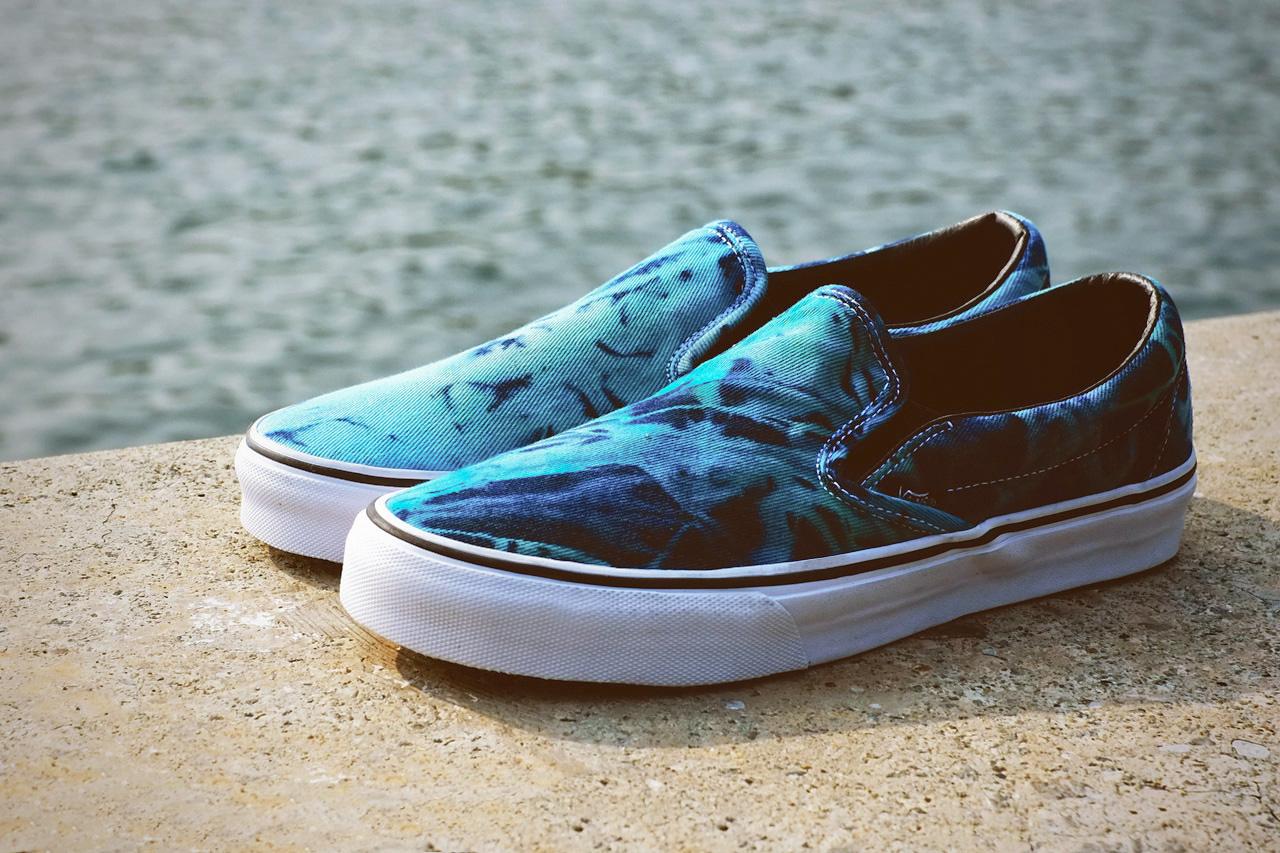 "Vans 2013 Spring/Summer Classic Slip-On ""Tie Dye"""