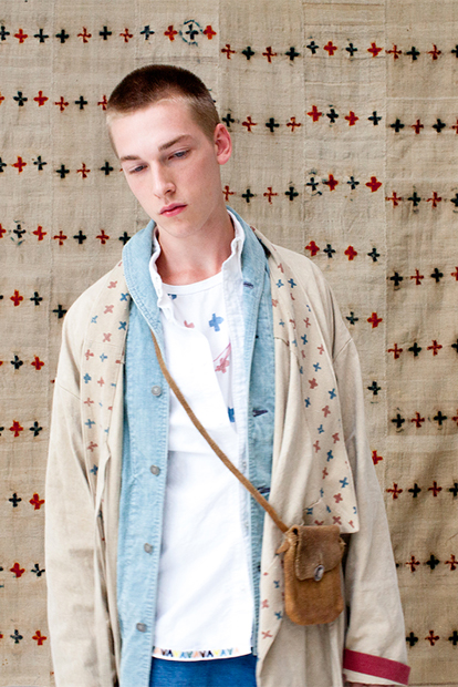 "visvim 2013 Spring/Summer ""Dissertation on Symbolism and our Prayer flag"" Lookbook"
