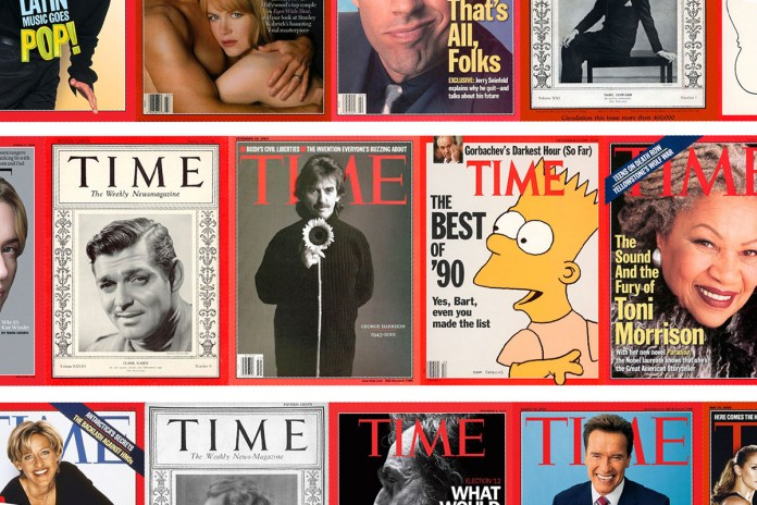 Watch 90 Years of TIME Covers In Video
