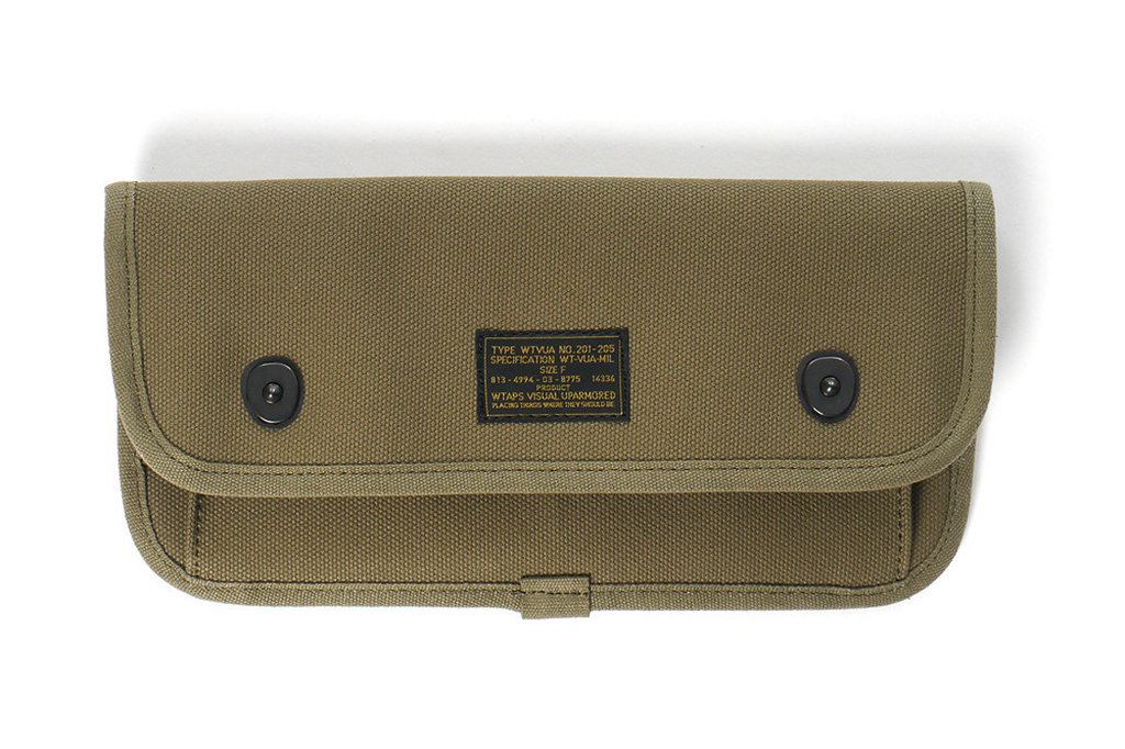 wtaps 2013 spring summer mil spec canvas accessories