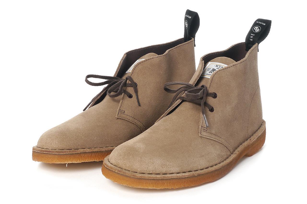 wtaps x clarks 2013 spring summer desert boots