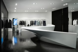 Zaha Hadid x Neil Barrett Shop-In-Shop