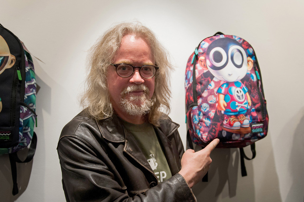 Sprayground and Ron English Team Up On a New Collection of Backpacks