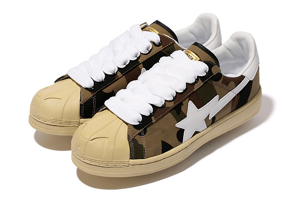 A Bathing Ape 1ST CAMO CANVAS SKULL STA