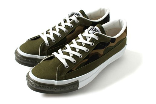 A Bathing Ape APESTA COURT Camo/Black