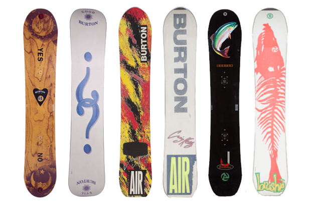 A Look Back at Burton's Most Iconic Snowboard Graphics