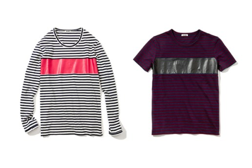 Acne 2013 Spring/Summer Striped Tees