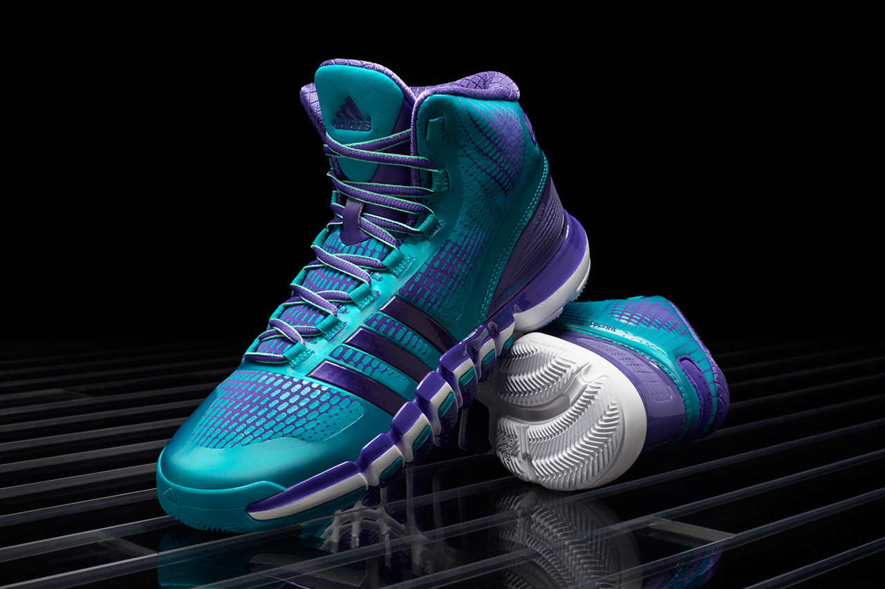 adidas Crazyquick Teal/Purple
