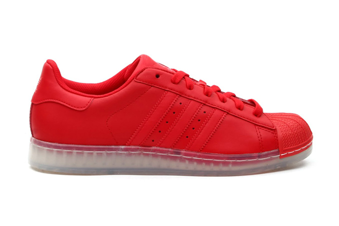 adidas Originals Superstar Clear Vivid Red