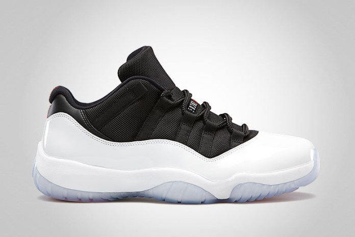 Air Jordan 11 Retro Low White/Black-True Red