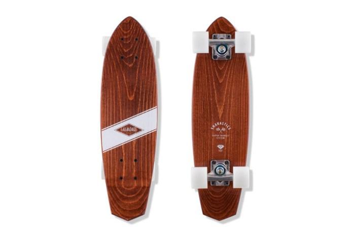 Almond Surfboards & Designs x Shakastics Custom Planks Skateboard