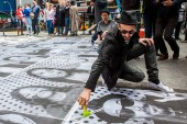 """ANIMAL Follows JR Through Times Square For His """"Inside Out"""" Project"""