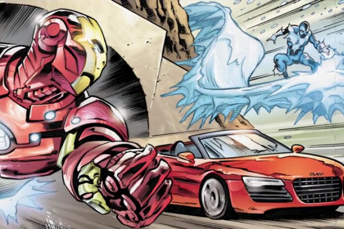Audi & Marvel Comics Offer Fans the Chance to Decide Iron Man's Fate