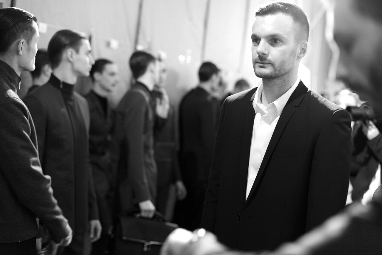 Backstage at Dior Homme's First Ever Show in Beijing for Fall/Winter 2013