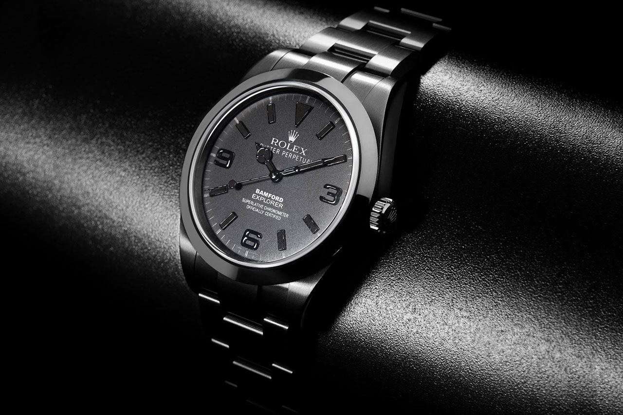 Bamford Watch Department All Black Dial Explorer I