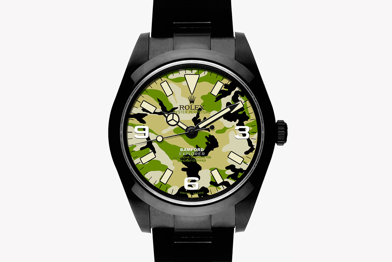Bamford Watch Department Military Dial Camouflage Explorer I Collection