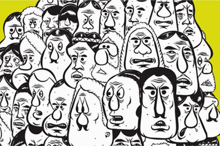 """Barry McGee """"Drawing from the Street"""" Exhibition @ ICA Boston"""