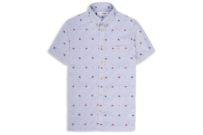 Ben Sherman 2013 Spring/Summer Bicycle Print Japanese Fabric Shirt