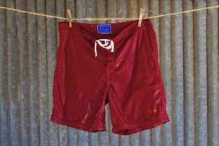 Best Made Co. x Lightning Bolt Famous Red Board Shorts