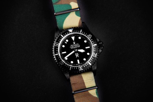 Blender Agency x Prohunter Rolex Military Submariner