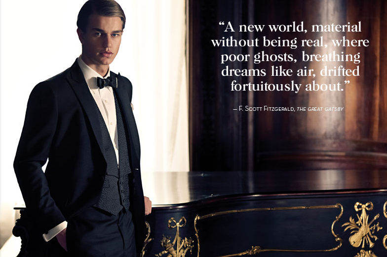 brooks brothers the great gatsby lookbook