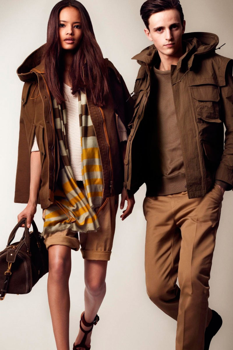 Burberry Brit 2013 Spring/Summer Lookbook