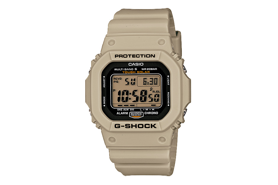 casio g shock desert beige series
