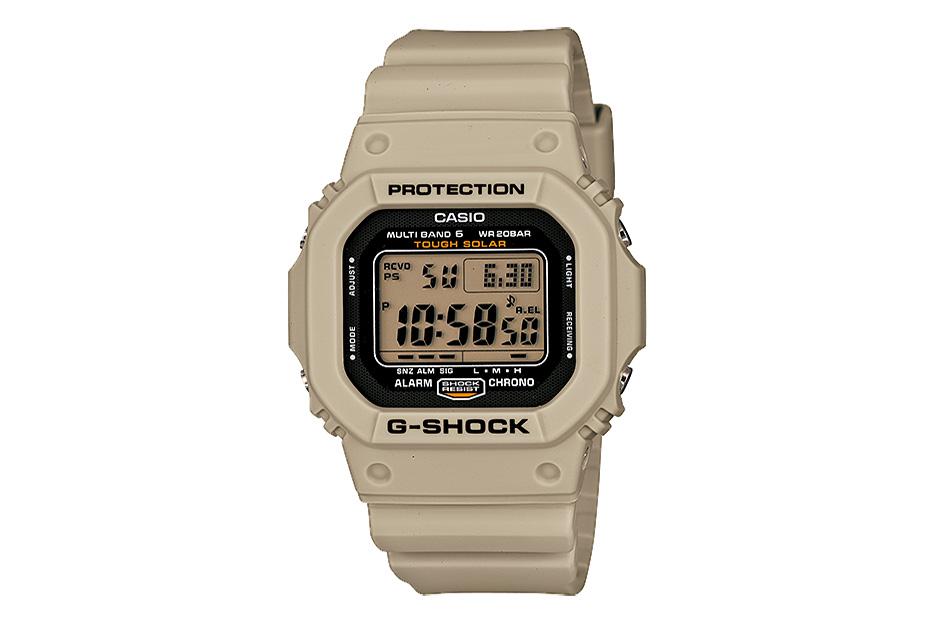 """Casio G-Shock """"Desert Beige"""" Series"""
