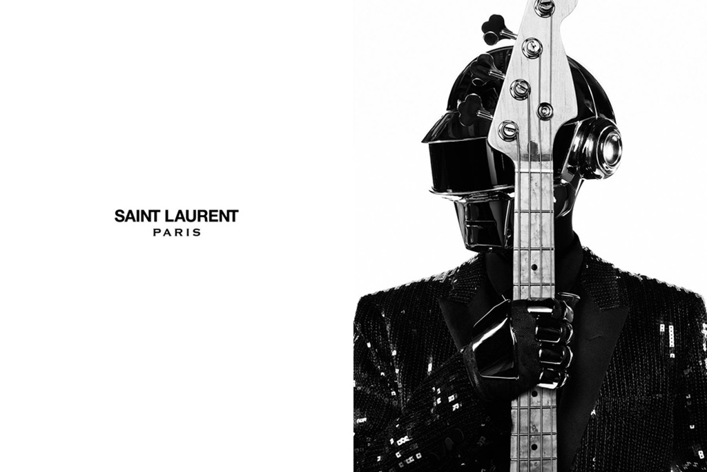 Check Out Daft Punk's New Stagewear Designed by Saint Laurent