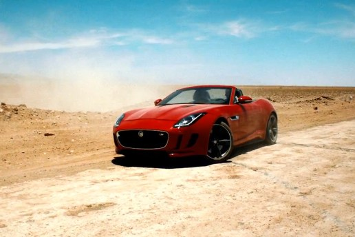"Check Out Jaguar's F-Type Film ""Desire"" Starring Damian Lewis"