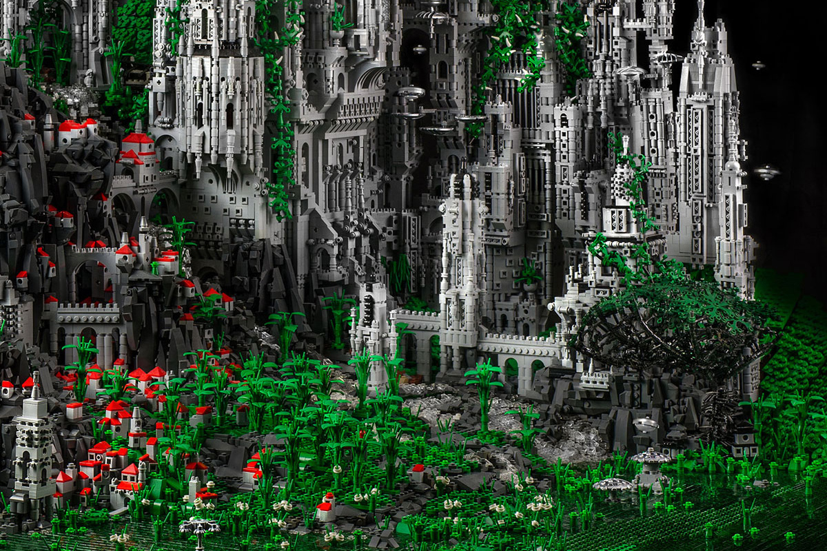check out this 200000 piece lego sculpture