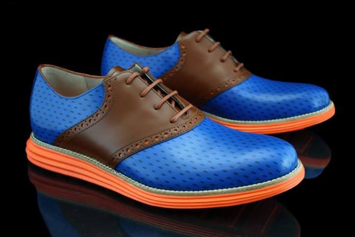 "Cole Haan Lunargrand ""Knicks"" by Revive Customs for Spike Lee"