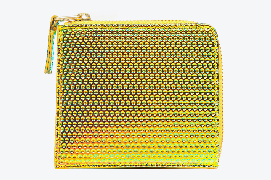 comme des garcons jewel leather wallet collection
