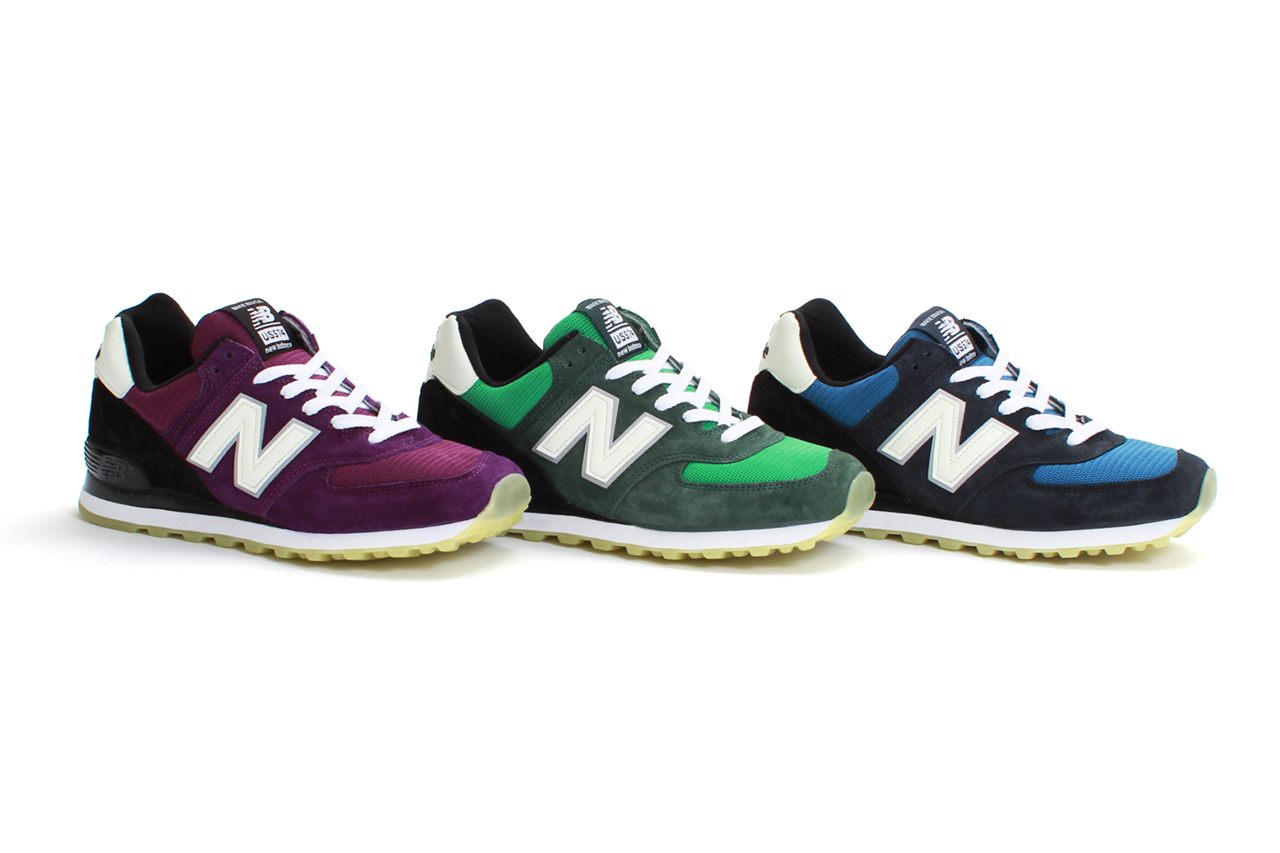 "Concepts x New Balance 2013 Spring/Summer US574 ""Northern Lights"" Pack"
